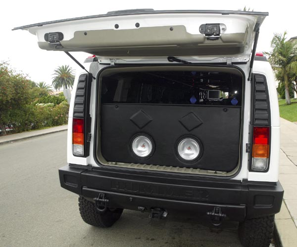 hummer limo subwoofers