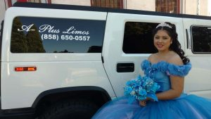 15 year old mexican girl with hummer limousine